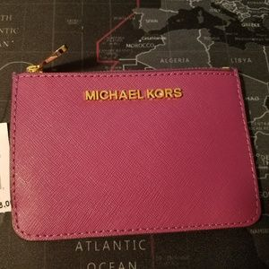 Michael Kors Zip Coin Pouch with ID Holder